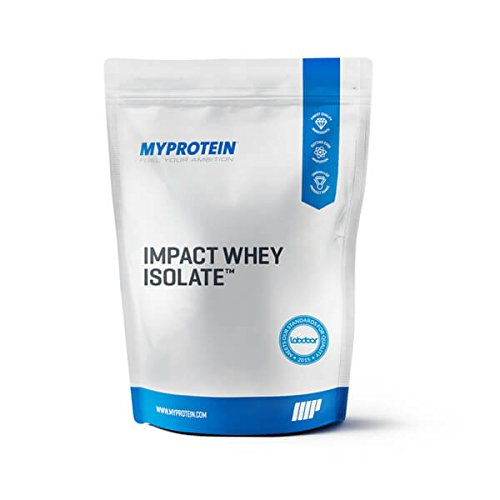 Myprotein Impact Whey Isolate Protein, Chocolate Smooth, 2.2 lbs (40 Servings)