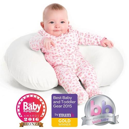 Nursing Pillow & Breastfeeding Pillow - White Pillowcase