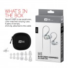 MEE Audio M6 In Ear Isolating Earphone - Clear