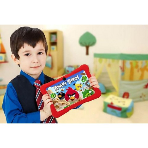 "Kids' 7"" Dual-Core Android Tablet & Case - 6 Colours!"