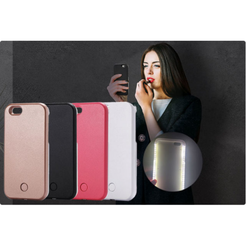 Light Up Selfie Phone Case for iPhone 6/6s - 4 Colours!